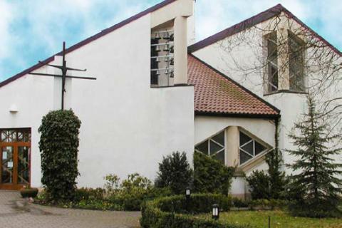 Katholische Kirche Hl. Kreuz in Halle