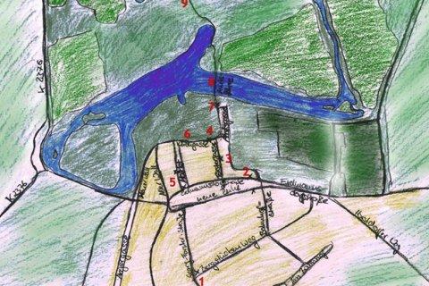 Zeichnung Toleranzweg Wörlitz