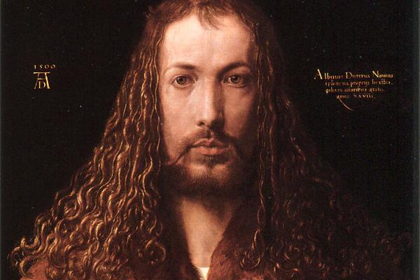 Albrecht Dürer (Ausschnitt aus dem Selbstporträt)