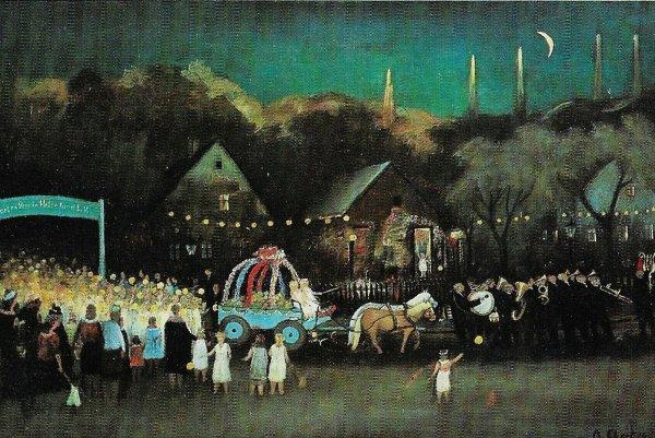 Albert Ebert: Kinderfest im Kleingartenverein